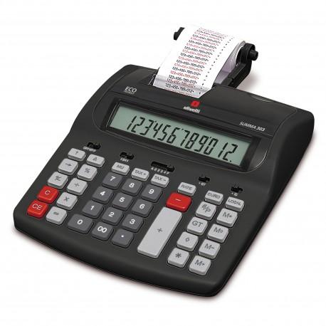 Calculator cu bandă OLIVETTI Summa 303 semiprofesional