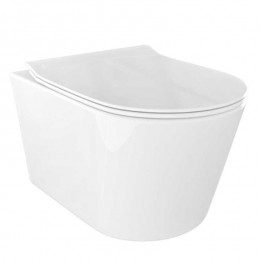 Pachet PONSI Surf vas WC suspendat cu capac